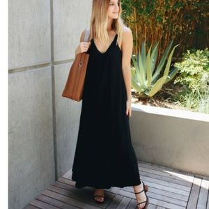 Helmut Lang - Sleeveless Crepe Maxi Dress